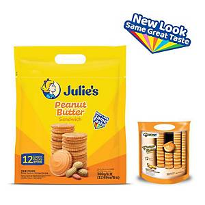Julie s Peanut Butter Sandwich 360g - pack of 12