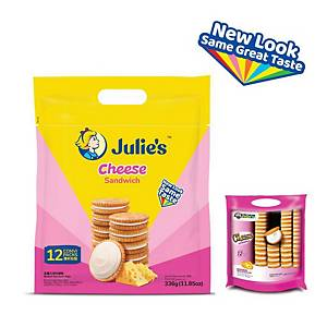 Julie s Cheese Sandwich 330g - pack of 12