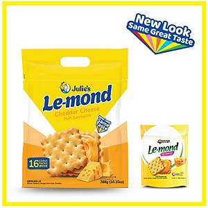 Julie s Le-mond Cheddar Cheese Puff Sandwich 288g - pack of 16