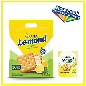 Julie s Le-mond Lemond Puff Sandwich 272g - pack of 16