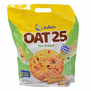 Julie s Oat 25 Ten Grains 300g - pack of 12