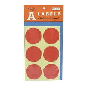 A Labels 23 Sealing Label 50mm - Pack of 24
