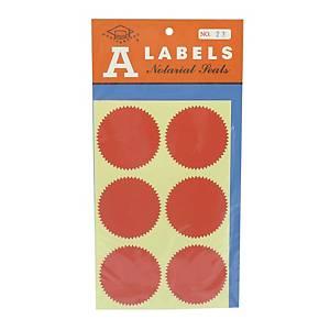 A LABELS 火漆標籤 23 直徑 50毫米 每包24個
