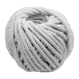 粗白色綿繩球403 - 綿繩直徑4毫米