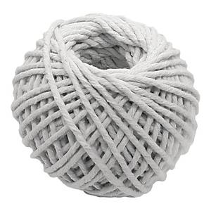 White Thin Cotton String 401 - ø2mm