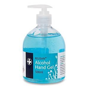 Relisan Alcohol Hand Sanitiser Gel 500ml