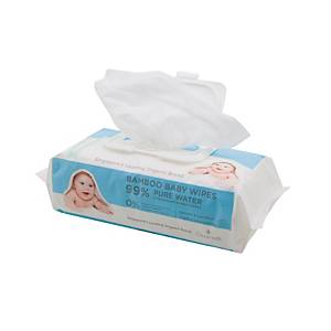 Cloversoft Pure Water Baby Wipes 70 Sheets - Pack of 3