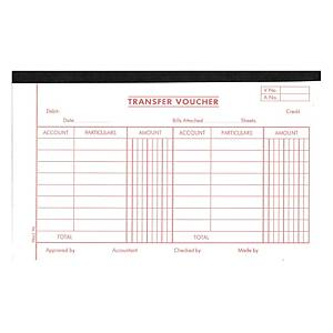 English Accounting Voucher #1770A Transfer