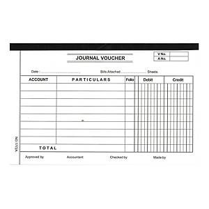 English Accounting Voucher #1772A Journal