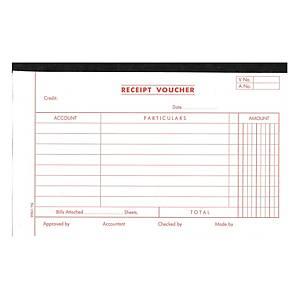English Accounting Voucher #1780A Receipt