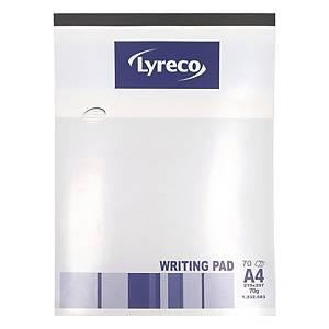 Lyreco Writing Pad A4 - 70 Sheets