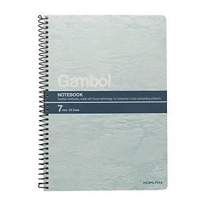 Gambol S5807 鐵圈筆記簿 混色 A5 - 每本80張紙