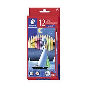STAEDTLER 帆船長身木顏色筆 - 12色
