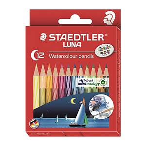 STAEDTLER Luna 137 Color Pencil Short - Box of 12