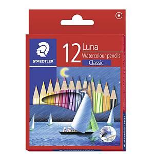 STAEDTLER 帆船短身木顏色筆 - 12色