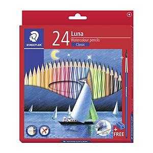 STAEDTLER 帆船長身木顏色筆 - 24色