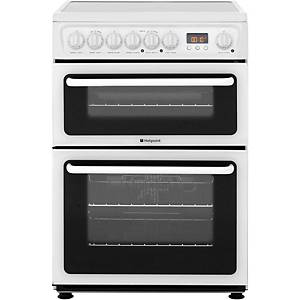 HOTPOINT HAE60PS ELECTRIC COOKER WH