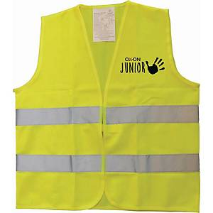OX-ON TRAFFIC VEST COMFORT HV KIDS YLLW