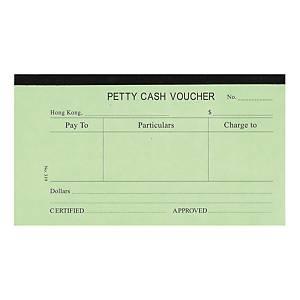 English Accounting Voucher #319 Petty Cash