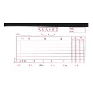 Chinese Accounting Voucher #302 Cash Payable