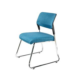 WORKSCAPE ZR-1025B WAITING CHAIR BLUE