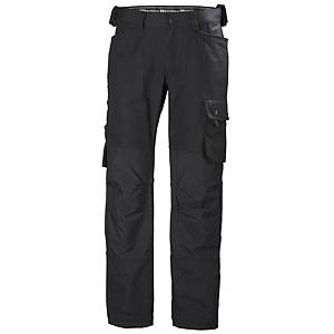 HH OXFORD 77462 WORK TROUSERS BLK 66