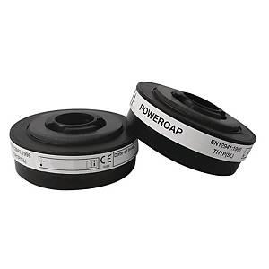 Filtres de rechange JPS Powercap® Active™ IP pour appareil respiratoire, les 2