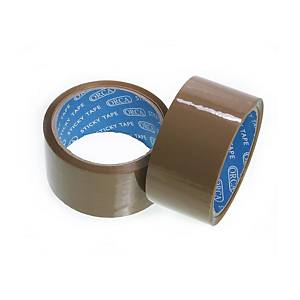 ORCA OPP PACKAGING TAPE SIZE 2 INCH X 45 YARDS CORE 3 INCH BROWN