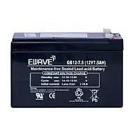 CHUPHOTIC แบตเตอรี่สำรอง EWAVE 12V 7.5AH