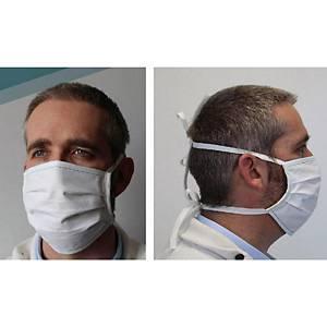 Masque barrière à usage non sanitaire catégorie 1 en tissu - la boite de 20