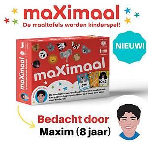 MaXimaal maaltafels gezelschapsspel nl