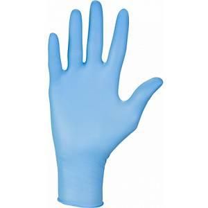 Guanti monouso in nitrile NITRYLEX CLASSIC, taglia L, conf. da 100 pezzi, blu
