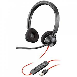Auriculares Blackwire - Poly - Negro