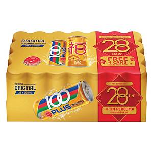 100Plus Isotonic Drink Drink 325ML Pack of 28