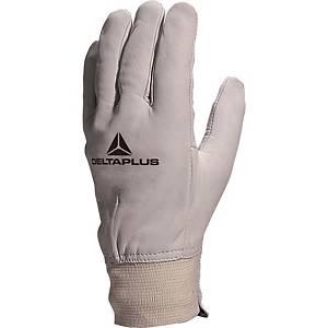 Deltaplus GFBLE lederen handschoenen, maat 10, pak van 12 paar