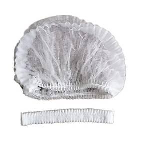 Jednorazová čiapka biela, 100 kusov