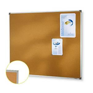 Cork Board Aluminium Frame 45x60cm
