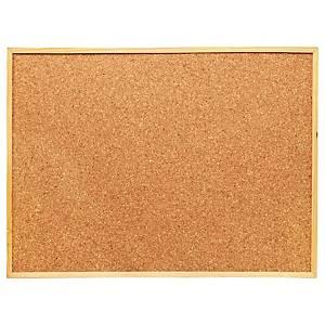 Cork Board Wooden Frame 90x120cm