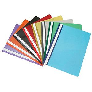 Bantex PVC Project Folder A4 Red