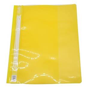Bantex A4 Management File - Yellow - Pack of 12