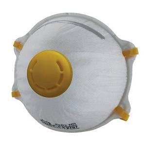 Grande FFP2 hengityssuojain venttiilillä 1 kpl=20 hengityssuojainta