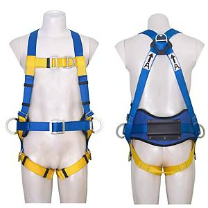 3M 1390033 SAFETY HARNESS D-RING 5 POINTS BLUE