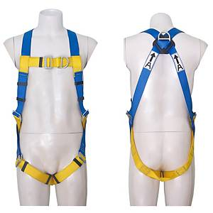 3M 1390033 SAFETY HARNESS D-RING BACK AND FRONT POINTS BLUE