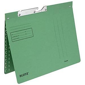 Pendelhefter, LEITZ 2014, A4, Schnellheftmechanik 8cm, grün, Packung à 50 Stück