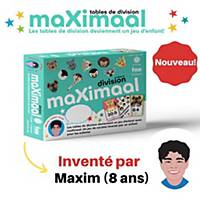 Division playing cards Maximaal French