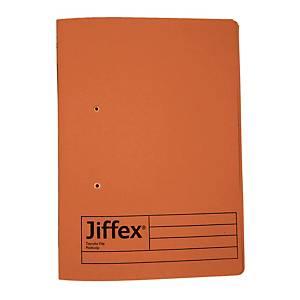 REXEL JIFFEX 紙皮彈簧快勞 F4 橙色