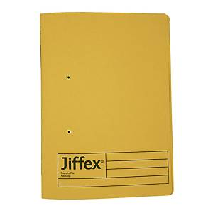 Rexel Jiffex Transfer File F4 Yellow