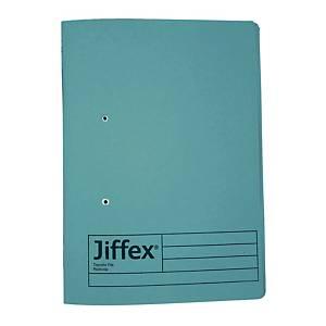 REXEL JIFFEX 紙皮彈簧快勞 F4 藍色