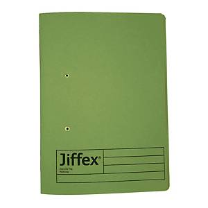 Rexel Jiffex Transfer File F4 Green