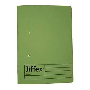 REXEL JIFFEX 紙皮彈簧快勞 F4 綠色